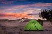 Camping in the de...