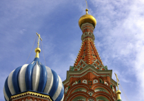 Two Russian Steeples