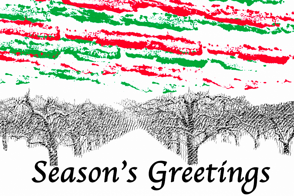 Season's Greetings From Niagara's Orchards - ID: 15781974 © Marilyn Cornwell