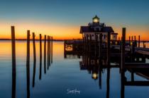Morning at Roanoke Marshes Lighthouse
