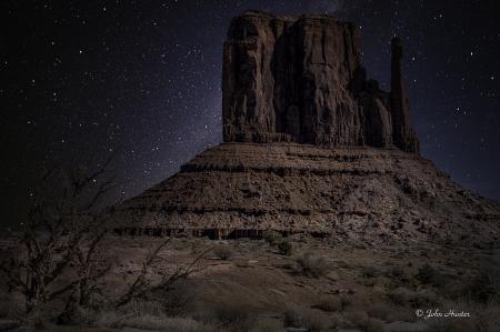 Left Mitten at Monument Valley