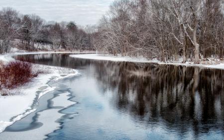 Concord River, Winter