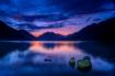 Lake Crescent Sun...