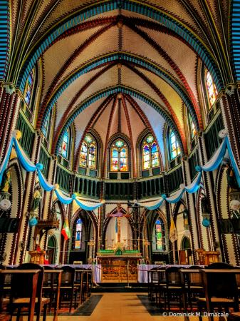 ~ ~ INSIDE ST MARY'S CHURCH ~ ~
