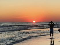 Destin Beach Sunset