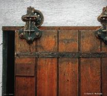 single track door
