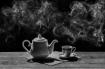 Tea Pot with Smok...