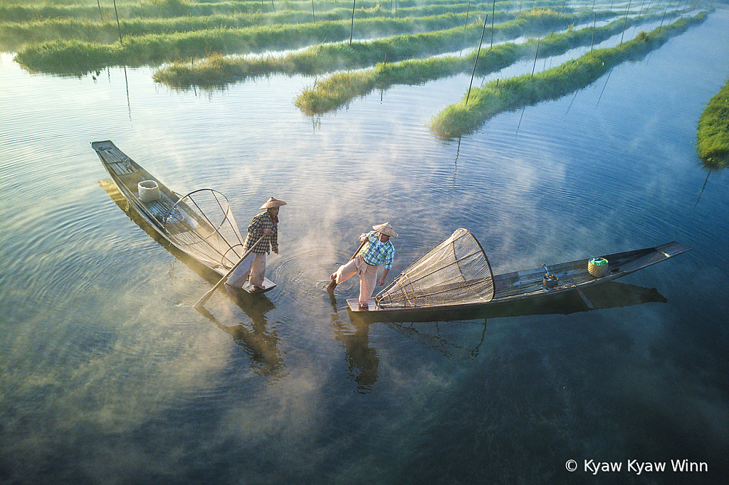 2 Fishermen From Inle