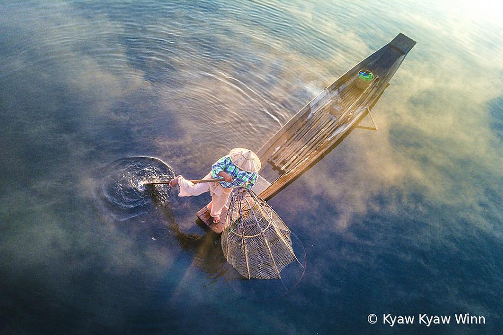 The Fisherman in Morning