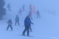 Ski lessons, Grouse Mountian BC