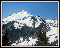 Mount Baker, Washington.