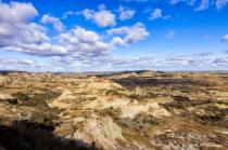 Beautiful North Dakota badlands