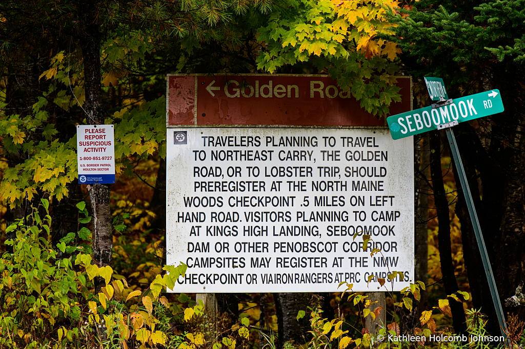 Northern Maine Travel! - ID: 15785147 © Kathleen Holcomb Johnson