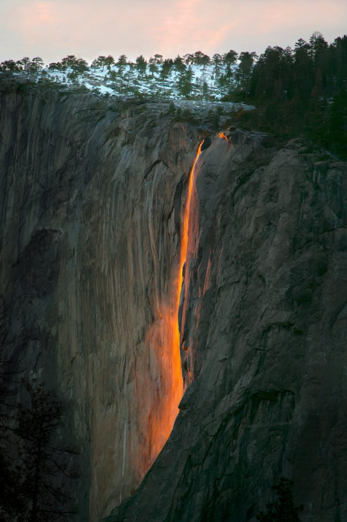 Horsetail Falls - Yosemite CA - ID: 15785472 © Peggy J. Sells