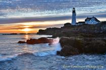 Morning Light, Portland Head Light, Maine