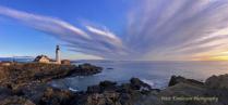 Portland Head Lighthouse panorama, Maine