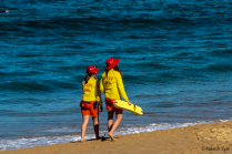 LIFE GUARDS AT MANLY BEACH