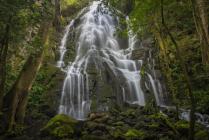 Las Pailas waterfall
