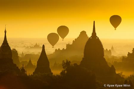 Golden Hours in Bagan