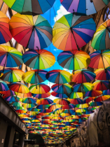 Umbrellas of Bucharest