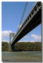 George Washington Bridge Looking West