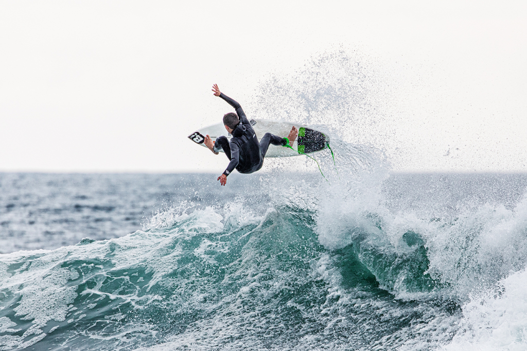 So Cal Surfing Boy