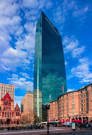 Panoramic Boston