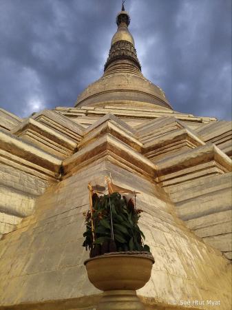 Upper shwedagon pagoda
