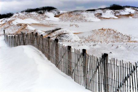 Herring Cove Snow Fence