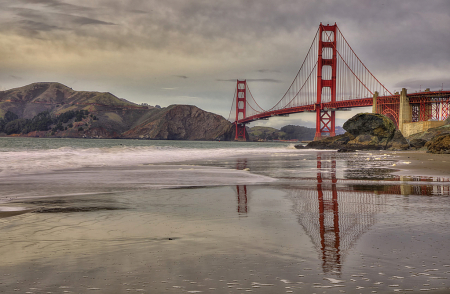 Baker Beach Reflection