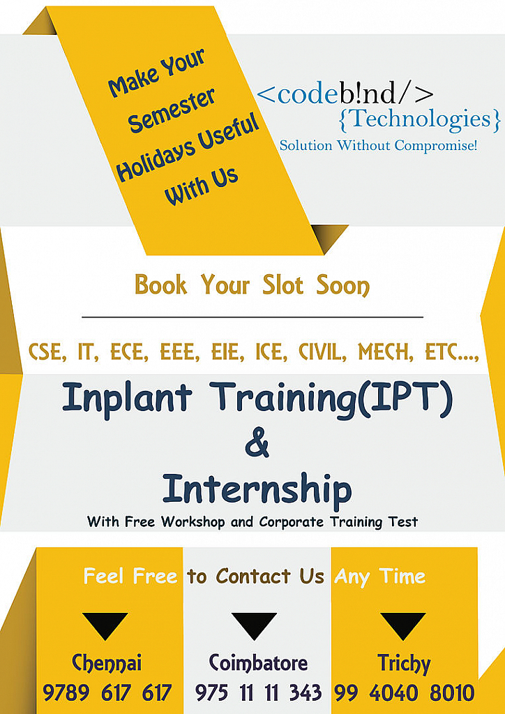 manual software testing course in coimbatore