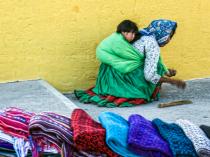 Tarahumara Women and Child