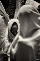 Prays In Lalibela