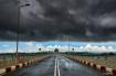 Clouds and bridge
