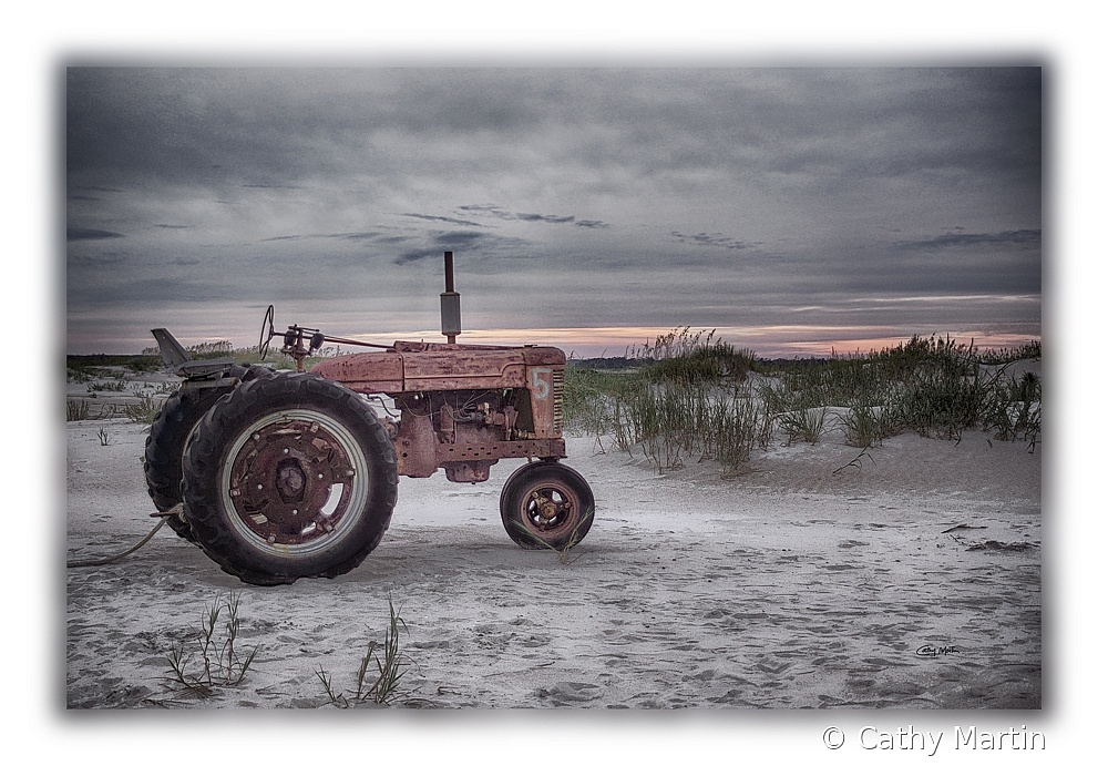7231tractorbeach - ID: 15790951 © Cathy Martin