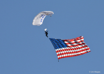 USAFA Wings of Blue Parachute Team
