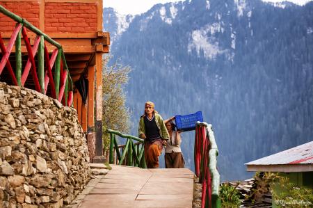Sojha Villagers