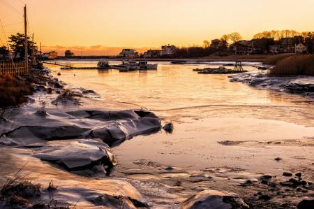 Cold Harbor Sunrise