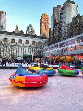 Friday at Bryant Park