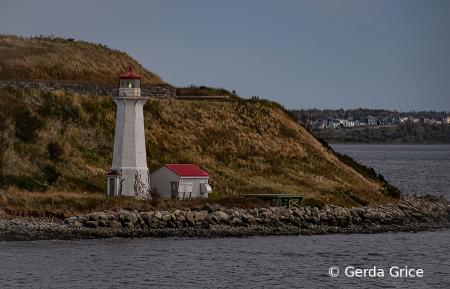 Lighthouse near Halifax, NS, Canada
