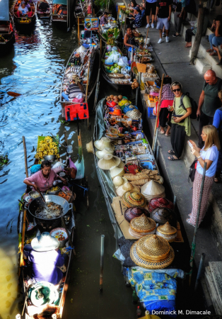 ~ ~ FLOATING MARKET OF BANGKOK ~ ~