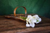 A Basket Of Cali Lilies
