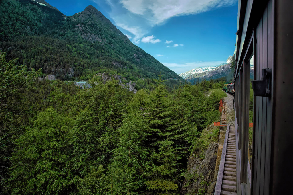 Traveling the White Pass and Yukon Route