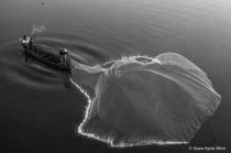 Fishermen and His Net