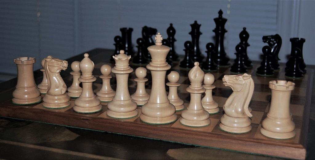 Antique chess set