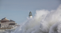 Scituate Lighthouse after the Storm