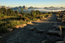 Tatoosh Range Above the Clouds