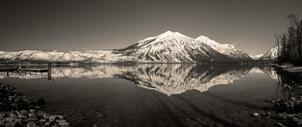 Pano of Lake McDonald - ID: 15805183 © KC Glastetter