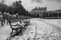 Bleak Winter Day in Vienna