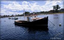 New Hampshire Work Boat at Anchor...